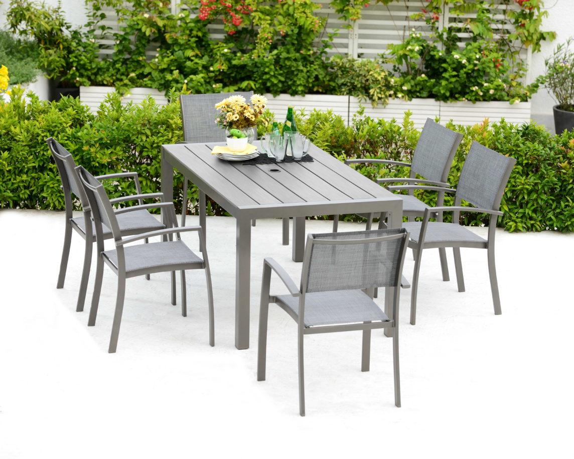 Lifestyle Garden – Solana 7 Seat Rectangular Set